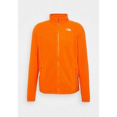 ノースフェイス ジャケット&ブルゾン メンズ アウター GLACIER FULL ZIP NEW - Fleece jacket - flame