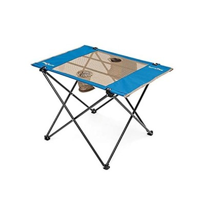 Sunnyfeel Fabric Foldable Camping Table, Compact, Lightweight, Folding Tabl
