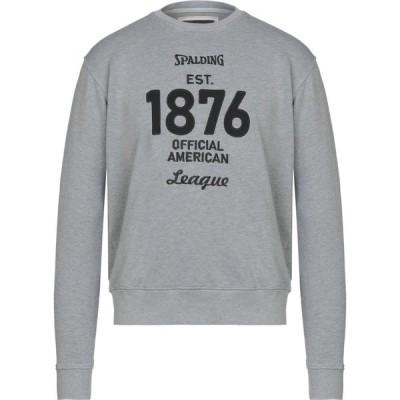 スポルディング SPALDING メンズ スウェット・トレーナー トップス sweatshirt Grey