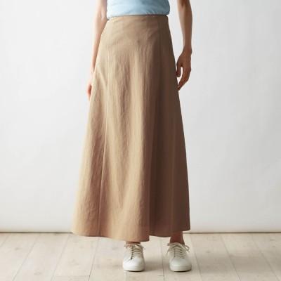 すぐ乾いて部屋干ししてもニオイが気にならないロングスカート(スタイルノート/StyleNote)