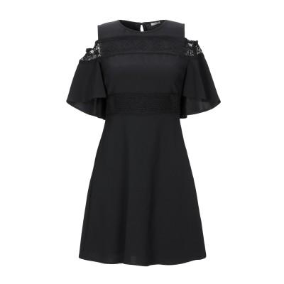 リュー ジョー LIU •JO ミニワンピース&ドレス ブラック 38 91% ポリエステル 9% ポリウレタン ミニワンピース&ドレス
