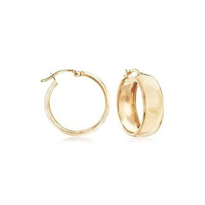 特別価格Ross-Simons 18kt Yellow Gold Over Sterling Silver Hoop Earrings並行輸入品