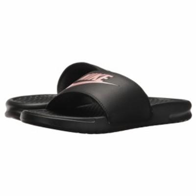 ナイキ Nike レディース サンダル・ミュール シューズ・靴 Benassi JDI Slide Black/Rose Gold