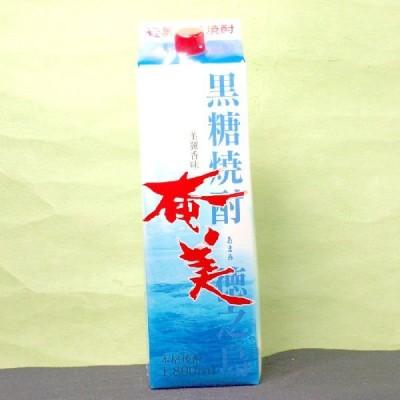 ギフト プレゼント 父の日 黒糖焼酎 1回のご注文で12本まで 25度 奄美パック 1.8L メーカー:奄美酒類(株)