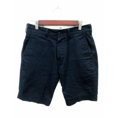 【中古】アーバンリサーチ URBAN RESEARCH パンツ ショート ハーフ 36 紺 ネイビー /MS メンズ