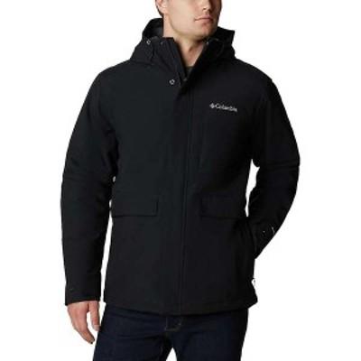 コロンビア メンズ ジャケット・ブルゾン アウター Columbia Men's Firwood Jacket Black