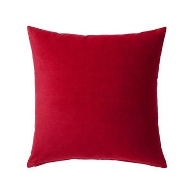IKEA/イケア SANELA:クッションカバー50x50 cm レッド(604.473.09)