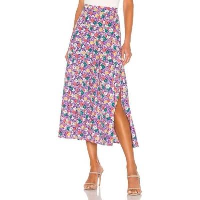 フェイスフルザブランド FAITHFULL THE BRAND レディース ひざ丈スカート スカート Cuesta Midi Skirt Nefeli Floral