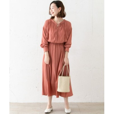 URBAN RESEARCH ROSSO/アーバンリサーチ ロッソ 2WAYドロストロングワンピース S/CORAL FREE
