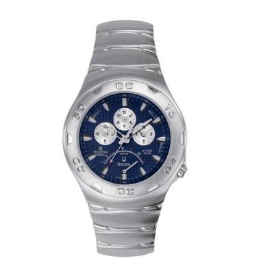 ブローバ Bulova 腕時計 時計 Bulova Men's 96G13 Millennia 4 Time Zone Watch