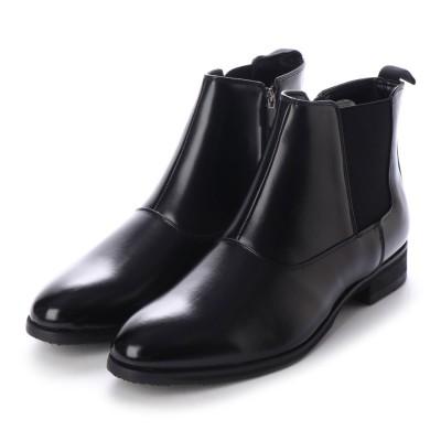 【生活防水】ユーピーレノマ U.P renoma 機能充実!底面の耐滑性に優れたブーツ   SPU3650 (ブラック)