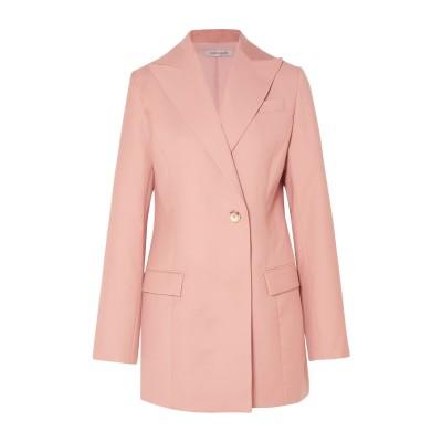 ANNA QUAN テーラードジャケット ピンク 4 ポリエステル 65% / レーヨン 35% テーラードジャケット
