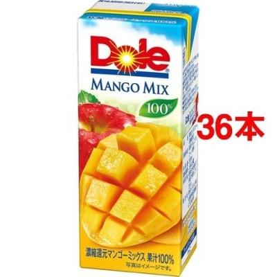 ドール マンゴーフルーツミックス100% (200ml*36本入)