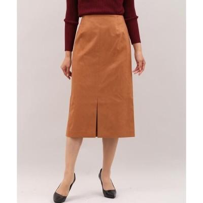 INED / イネド 《SUPERIOR CLOSET》フェイクスエードタイトスカート《KOMASUEDE×ONIBEGIE》