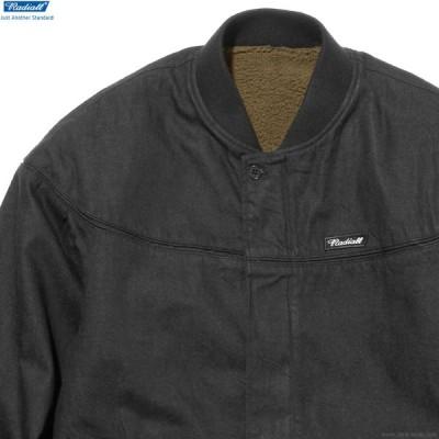 ラディアル RADIALL MOON STOMP VARSITY JACKET (BLACK) メンズ ジャケット アウター アウトドア リバーシブル ブラック
