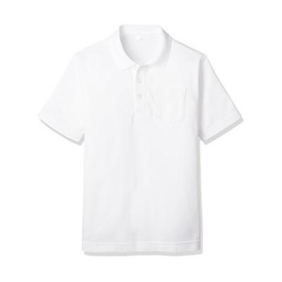 [キャッチ] 小学生 男子 半袖 ポロシャツ スクール シャツ 制服 通学 中学 高校 吸汗速乾 男児 男の子用