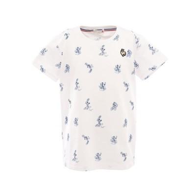 ルコック スポルティフ(Lecoq Sportif) Tシャツ 半袖 QMJPJA00DI WHT オンライン価格 (キッズ)
