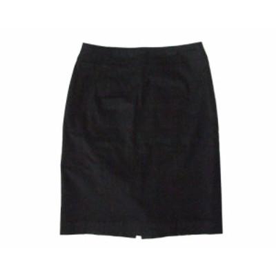 EMMAJAMES エマジェイムス 定番コットンスカート (黒) 099759【中古】