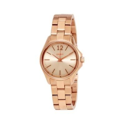 腕時計 ディーケーエヌワイ DKNY Eldridge グレー ダイヤル ローズ ゴールド-tone レディース 腕時計 NY2524