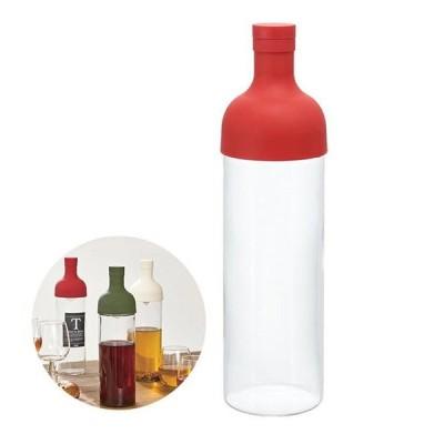 HARIO Filter-in Bottle ハリオ(フィルターインボトル)フィルターインボトル レッド 750ml 6個入 ハリオ(FIB-75-R)キッチン、台所用品