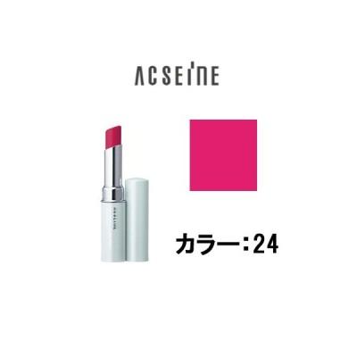 定形外は送料296円から トリートメント リップスティック PV 24 アクセーヌ ( acseine / 口紅 / ルージュ / )