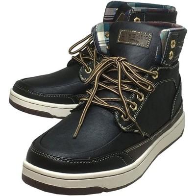 [エドウィン] 防水 メンズブーツ レインシューズ スノーブーツ スニーカー 靴 (ブラック, 26cm)