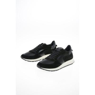 PHILIPPE MODEL PARIS Black レディース Leather MONTECARLO Sneakers dk