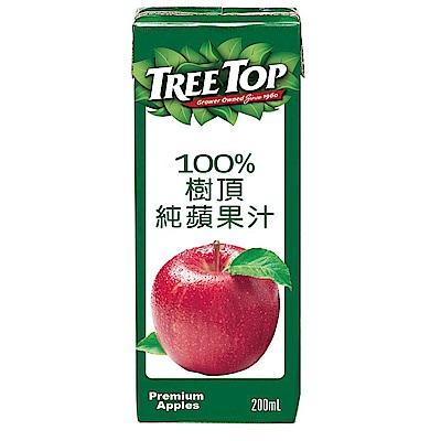 TreeTop樹頂 100%蘋果汁利樂包(200mlx6入)