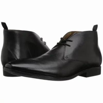 クラークス ブーツ Gilman Mid Black Leather