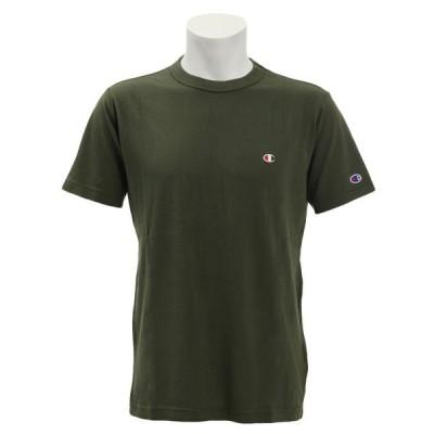 (チャンピオン)BA ワンポイントTシャツ トレーニングウエア 半袖Tシャツ C3−P300−570