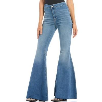フリーピープル レディース デニムパンツ ボトムス Just Float On Flare Bell Bottom Jeans Blue