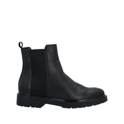 PREGUNTA ショートブーツ ブラック 36 革 ショートブーツ