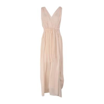 フォルテ フォルテ FORTE_FORTE ロングワンピース&ドレス ライトピンク 2 コットン 75% / シルク 25% ロングワンピース&ドレス