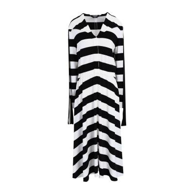 CALVIN KLEIN 205W39NYC ロングワンピース&ドレス ホワイト 36 レーヨン 96% / ポリウレタン 4% ロングワンピース&