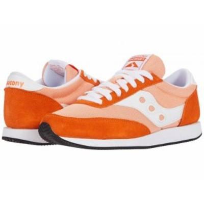Saucony Originals サッカニー レディース 女性用 シューズ 靴 スニーカー 運動靴 Hornet Orange/White【送料無料】