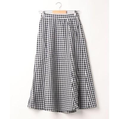 スカート マーメイドフレアスカート