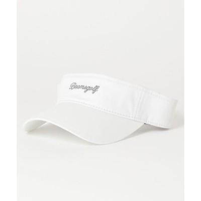 帽子 キャップ BEAMS GOLF ORANGE LABEL / カルフォルニアロゴ サンバイザー