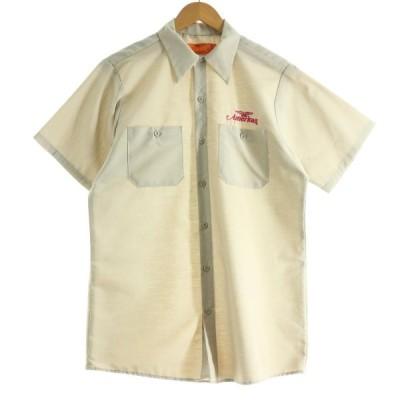 90年代 レッドキャップ Red kap 半袖 ワークシャツ USA製 メンズM ヴィンテージ /eaa142717