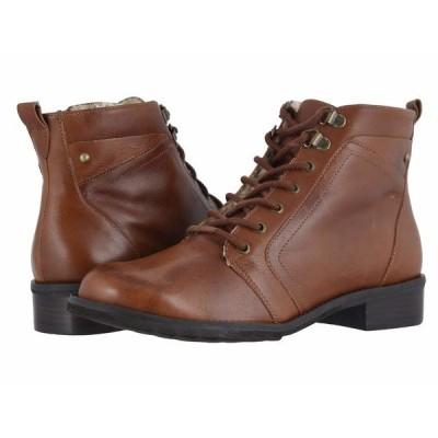 ウォーキング クレイドル ブーツ&レインブーツ シューズ レディース Kara Chestnut Rustic Leather