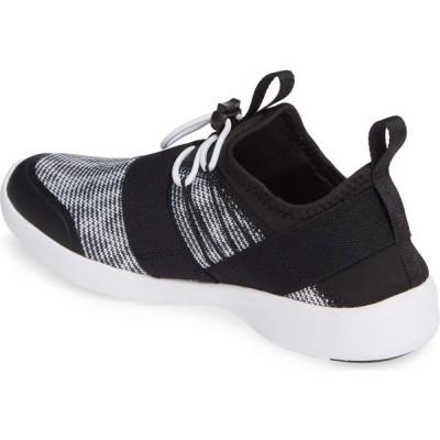 バイオニック VIONIC レディース スニーカー シューズ・靴 Alaina Sock Sneaker Black/Black