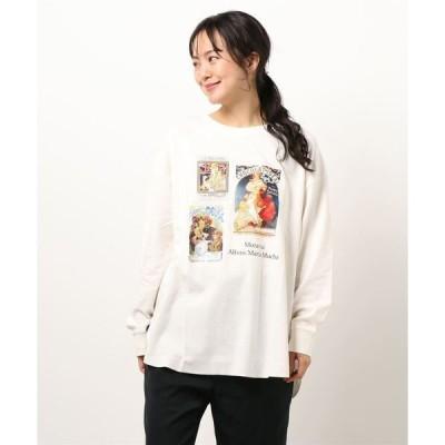 tシャツ Tシャツ アートプリントロンT(アルフォンス・ミュシャ)