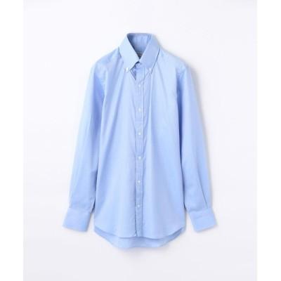 (TOMORROWLAND MENS/トゥモローランド メンズ)140/2コットンロイヤルオックスフォード ボタンダウン ドレスシャツ NEW BD-4/メンズ ブルー