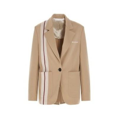 PALM ANGELS/パーム エンジェルス Beige Track Blazer' blazer jacket レディース 春夏2021 PWEN013S21FAB00185618561 ju