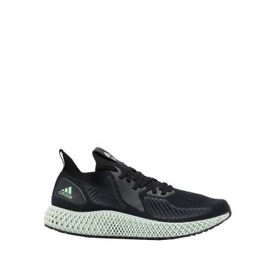 ADIDAS ORIGINALS スニーカー&テニスシューズ(ローカット) ブラック 10 紡績繊維 スニーカー&テニスシューズ(ローカット)