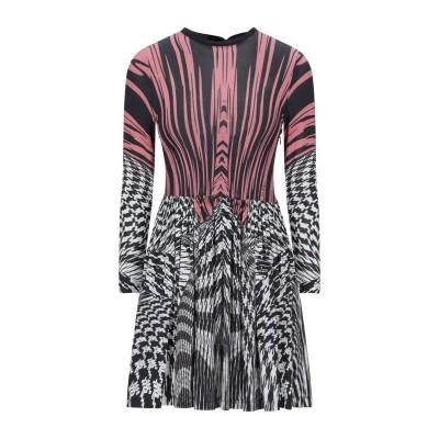 ビブロス BYBLOS ミニワンピース&ドレス ブラック 40 レーヨン 95% / ポリウレタン 5% ミニワンピース&ドレス