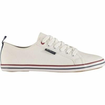 ベンシャーマン Ben Sherman メンズ シューズ・靴 Lestar Canvas Shoes White