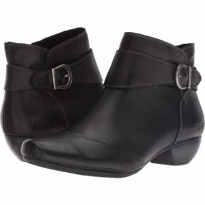 タオス Taos Footwear レディース ブーツ シューズ・靴 Addition Black Leather