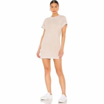 コットンシチズン COTTON CITIZEN レディース ワンピース ワンピース・ドレス x REVOLVE Tokyo Short Sleeve Mini Dress Vintage Oatmeal