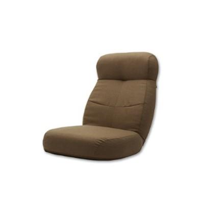 ポケットコイル入りあぐらがかけるリクライニング座椅子