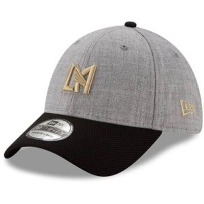 ニューエラ メンズ 帽子 アクセサリー LAFC New Era Change Up Redux 39THIRTY Flex Hat Heathered Gray/Black